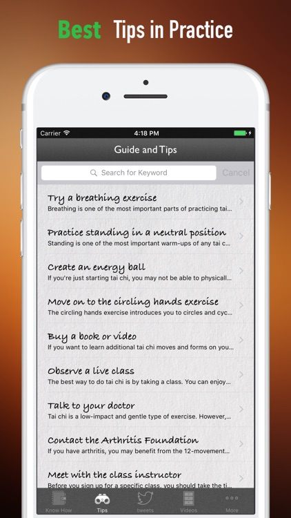 Tai Chi for Seniors-Exercises Guide and Health screenshot-3