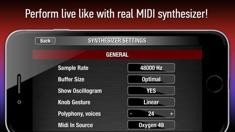 Poison-202 Vintage MIDI Synthesizer screenshot-4