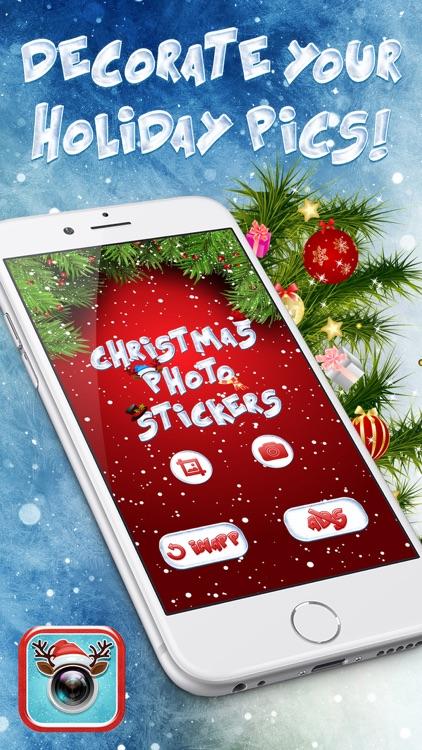 Christmas Photo Stickers