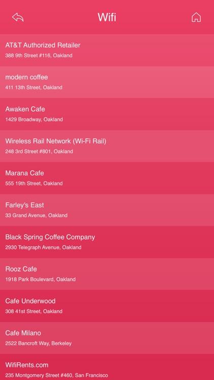 Oakland Wifi Hotspots screenshot-4