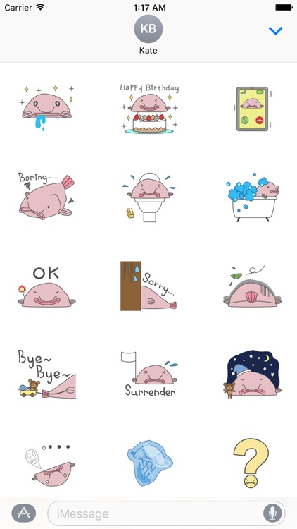 Blobfish The Ugliest Animal Sticker