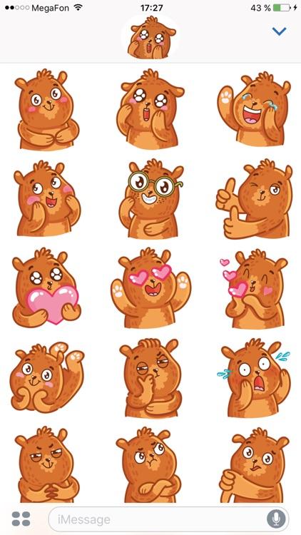 Bear stickers for iMessage screenshot-3