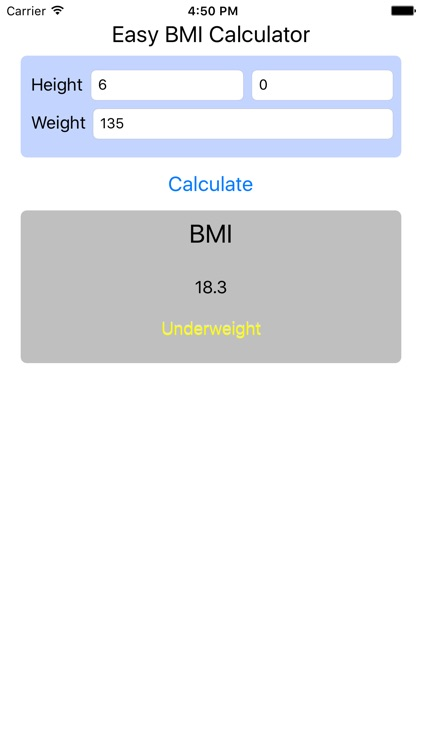 BMI Calculator - Find Your Body Mass Index screenshot-3
