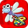 点击获取Coloring for Kids 3 - Fun Color & Paint on Drawing