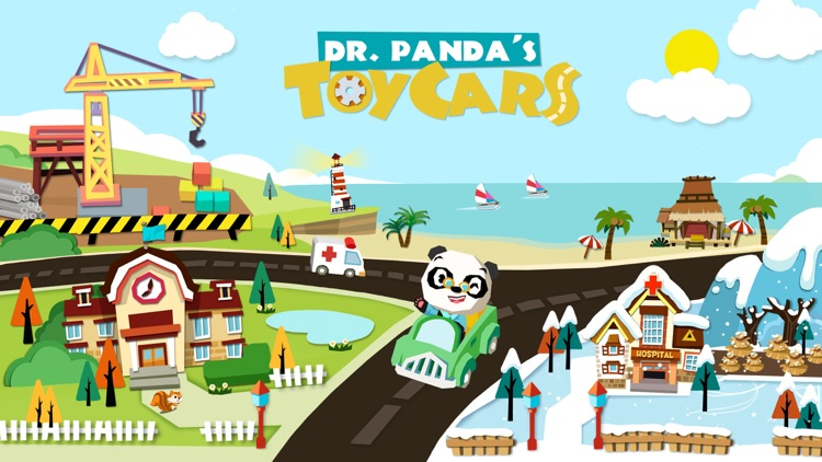 Dr. Panda Toy Cars Free screenshot-0