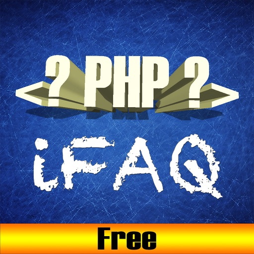 Free app for PHP technical job interview questions
