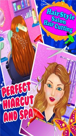 Haare Stil Salon Haare Schneiden Mädchen Spiele Im App Store