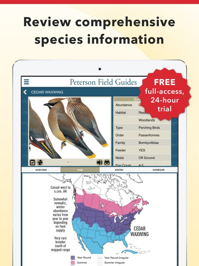 Peterson bird field guide on the app store peterson bird field guide on the app store fandeluxe Images
