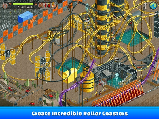 Screenshot #1 for RollerCoaster Tycoon® Classic