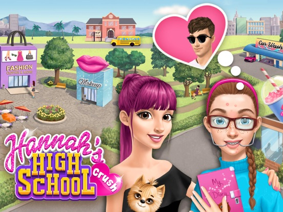 Hannah's High School Crush - No Ads на iPad