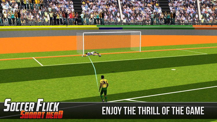 Soccer Flick Shoot Hero