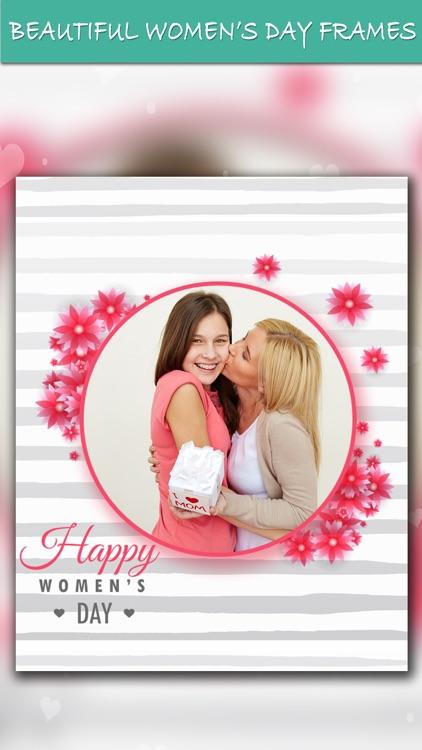 Women's Day Frames Collage App screenshot-3