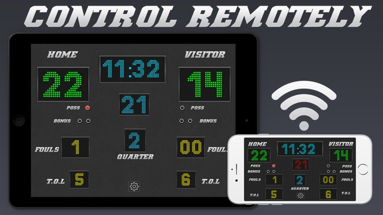 Basketball Scoreboard - Remote Scorekeeping screenshot-0