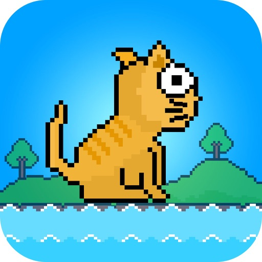 Flap Cat - Jump to Catch Fish