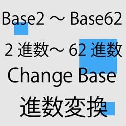 Chane Base system, between Base2 and Base62