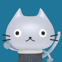 Plastic Cat Animated Stickers