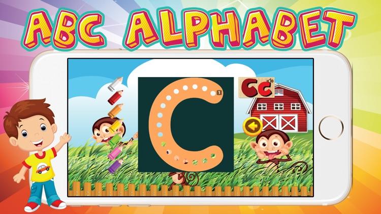 ABC Alphabet Animal Flashcards Game for Kids Free screenshot-3