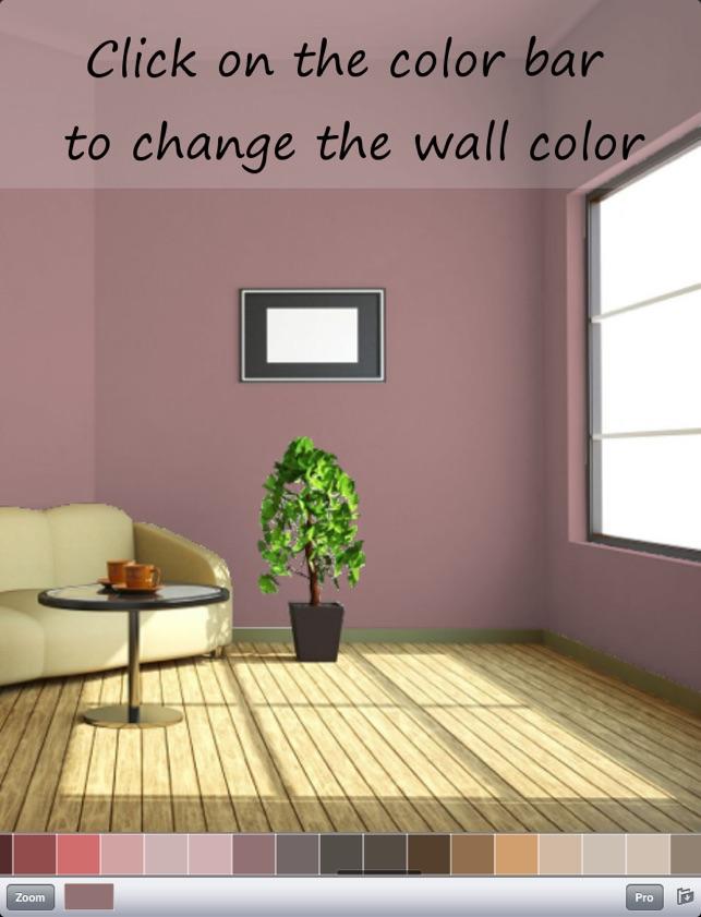 Paint My Wall - Virtuelles Wand streichen im App Store