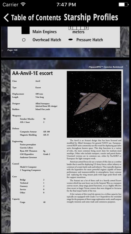 FSpace Roleplaying Game