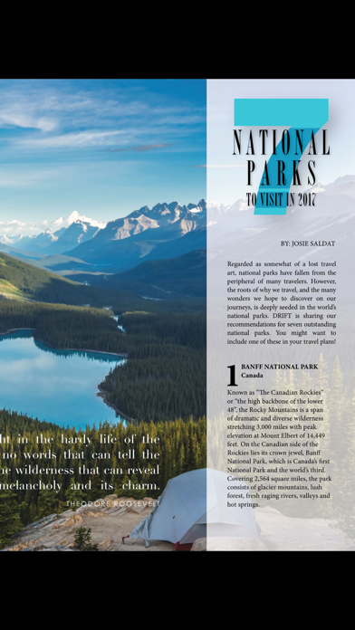 DRIFT Travel Magazine screenshot 3
