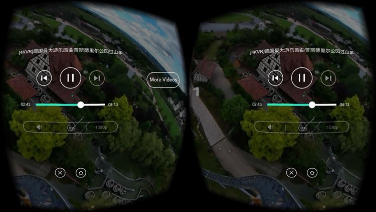 VR Roller Coaster Video