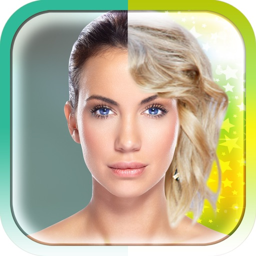 Show Your Celebrity Side-Famous people's Hairstyle iOS App