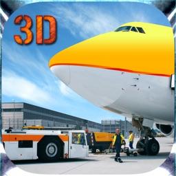 City Airport Cargo Airplane Flight Simulator Game