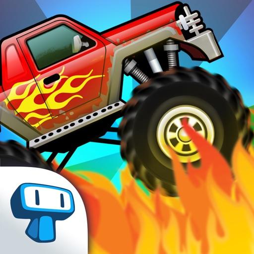 Monster Truck: Climb Racing - Crazy Road Challenge