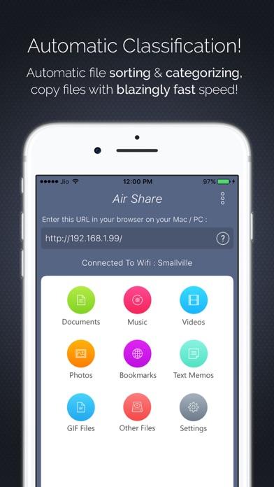 Air Share : File Transfer Pro Screenshots
