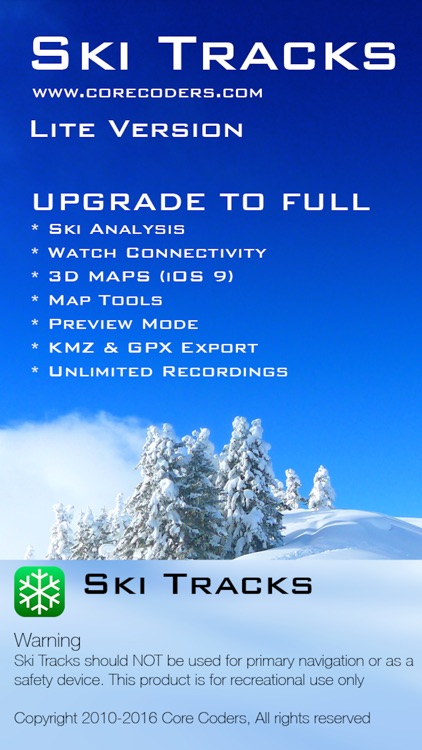 Ski Tracks Lite screenshot-4