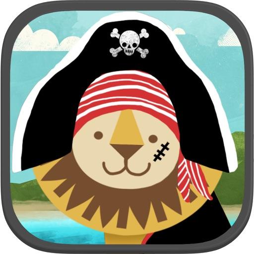 海盜學齡前拼圖– 適合男孩女孩的趣味教育幼兒遊戲和學校活動