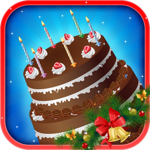 Xmas Birthday Cake Maker