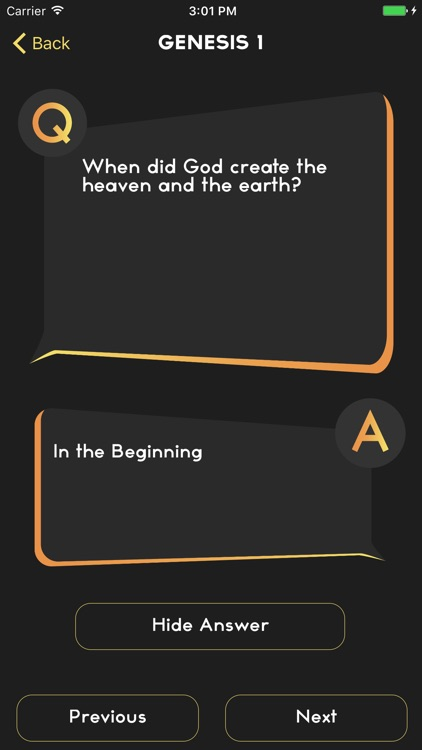 Bible Quiz - Know Questions screenshot-3