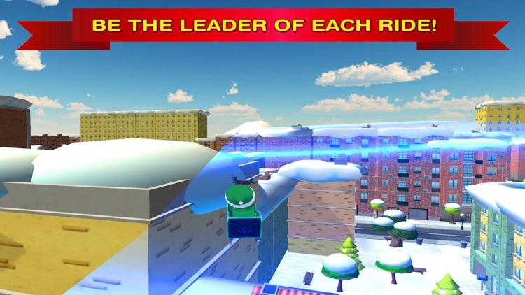 Santa Claus Christmas Snow Racing Full screenshot-3