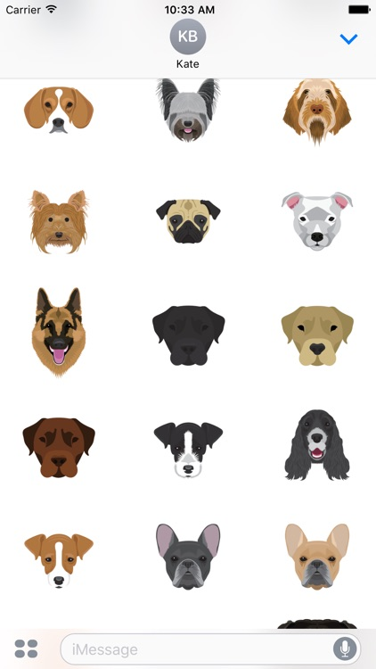 Dogs Selfie - Redbubble sticker pack