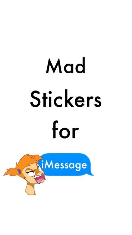 I'm Mad Stickers