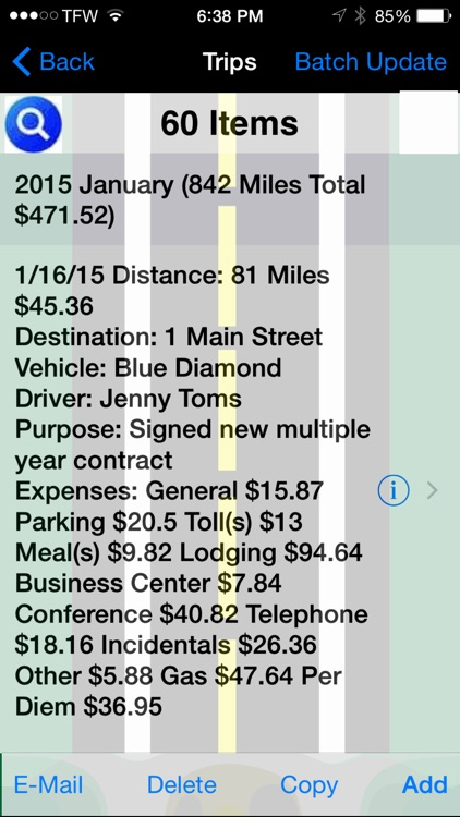 Track My Mileage And Expenses screenshot-2