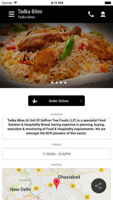 Tadka Bites screenshot two