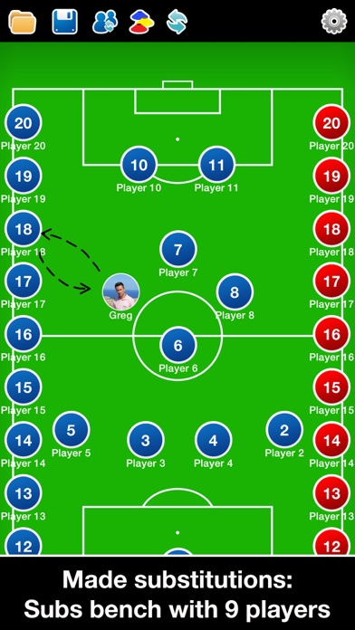 Screenshot for Coach Tactic Board: Football++ in Kuwait App Store