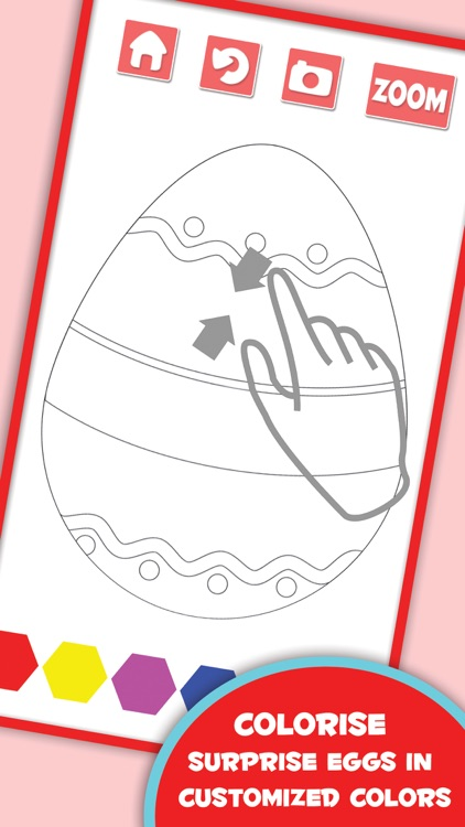 Coloring Pages For Surprise Eggs
