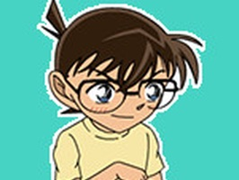 Animated Detective Conan Stickers For iMessage