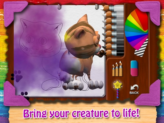 Paint My Cat - Color and Play Скриншоты8