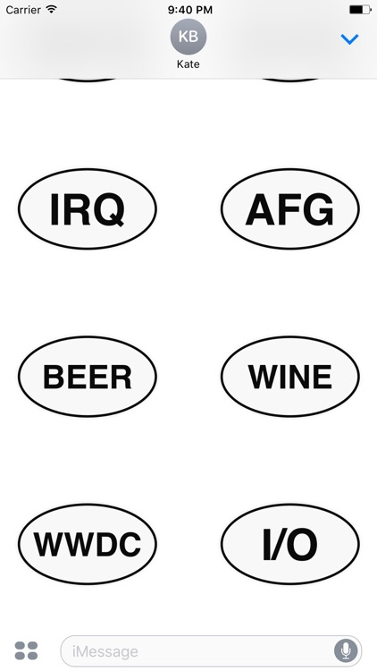 Oval Stickers screenshot-3