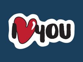 Cute LOVE Stickers