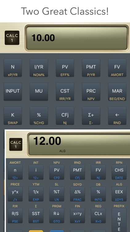 CALC 1 - 10bii +100 Calculators for Finance & More screenshot-0