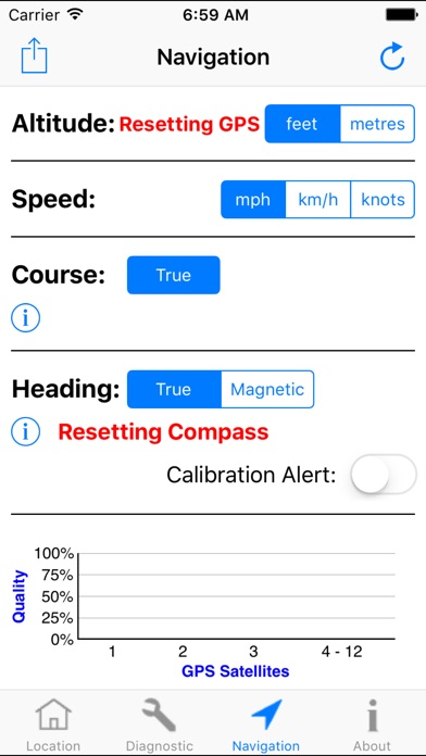 Screenshot for GPS Diagnostic: Satellite Test in United States App Store
