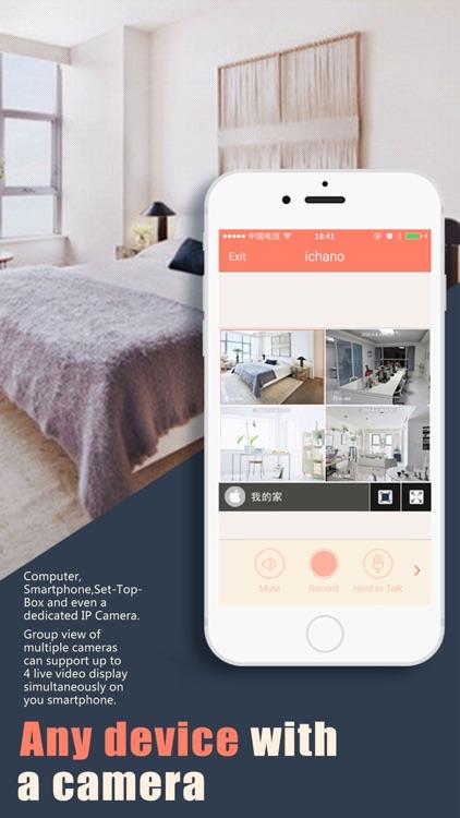 AtHome Camera - Home security, video surveillance screenshot-3