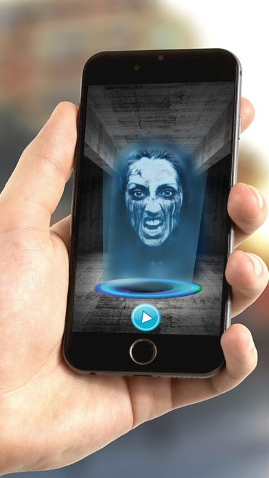 Halloween Hologram Ghost 3D Camera Fake screenshot one