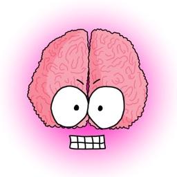 Crazy Brain Stickers