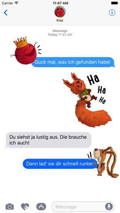 Kosmo & Klax: Sticker-Fun! screenshot 1